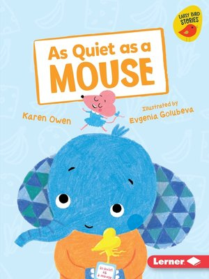 cover image of As Quiet as a Mouse