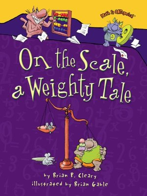 cover image of On the Scale, a Weighty Tale