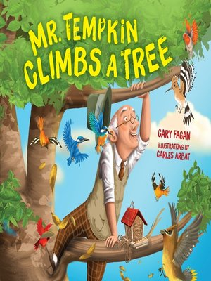 cover image of Mr. Tempkin Climbs a Tree