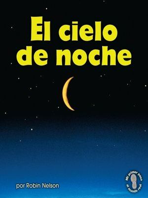 cover image of El cielo de noche (The Night Sky)