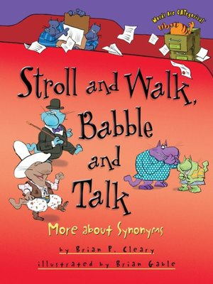 cover image of Stroll and Walk, Babble and Talk