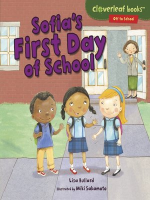 cover image of Sofia's First Day of School