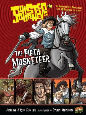 cover image of #19 The Fifth Musketeer
