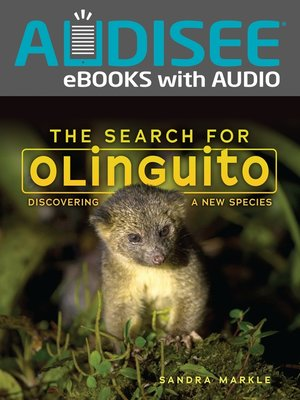 cover image of The Search for Olinguito