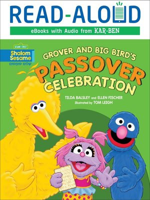 cover image of Grover and Big Bird's Passover Celebration