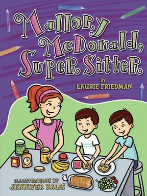 cover image of Mallory McDonald, Super Sitter