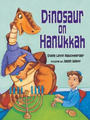 cover image of Dinosaur on Hanukkah
