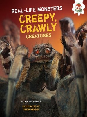 cover image of Creepy, Crawly Creatures