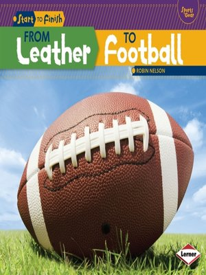 cover image of From Leather to Football