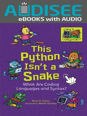cover image of This Python Isn't a Snake