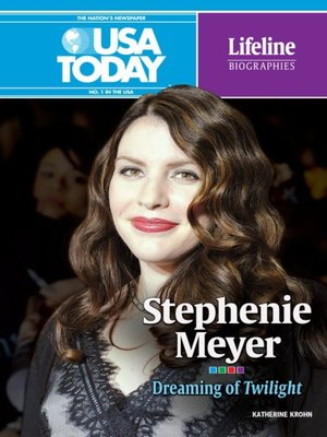 cover image of Stephenie Meyer