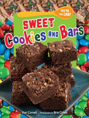 cover image of Sweet Cookies and Bars