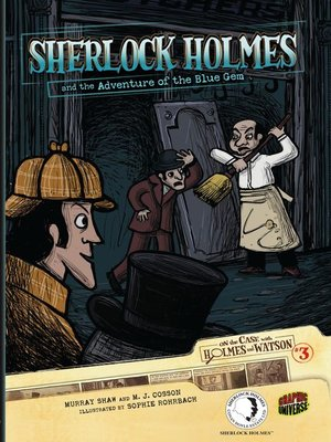 cover image of Sherlock Holmes and the Adventure of the Blue Gem