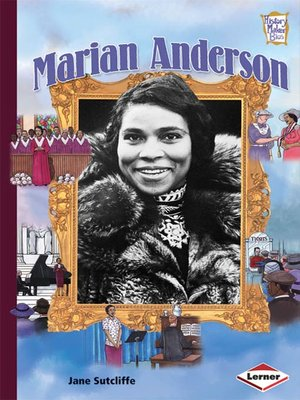cover image of Marian Anderson