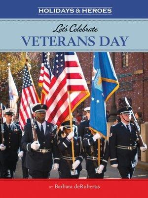 cover image of Let's Celebrate Veterans Day