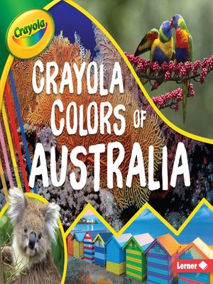 cover image of Crayola ® Colors of Australia