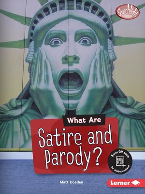 cover image of What Are Satire and Parody?