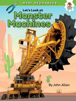 cover image of Let's Look at Monster Machines