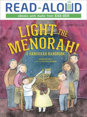 cover image of Light the Menorah!