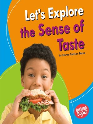 cover image of Let's Explore the Sense of Taste