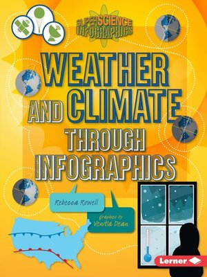 cover image of Weather and Climate through Infographics