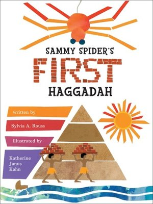 cover image of Sammy Spider's First Haggadah