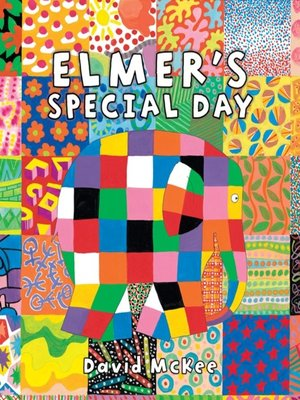 cover image of Elmer's Special Day