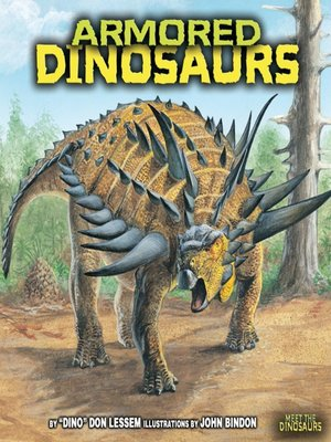 cover image of Armored Dinosaurs