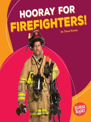 cover image of Hooray for Firefighters!