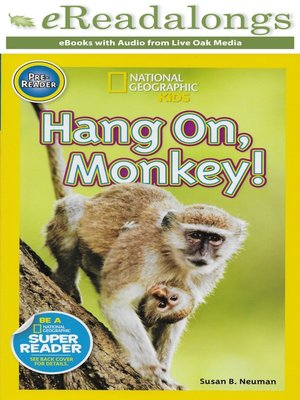 cover image of Hang On, Monkey!