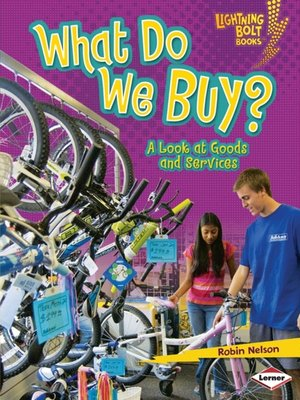 cover image of What Do We Buy?