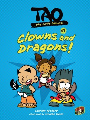 cover image of #3 Clowns and Dragons!