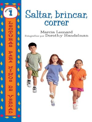 cover image of Saltar, brincar, correr (Hop, Skip, Run)