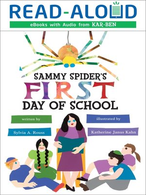 cover image of Sammy Spider's First Day of School