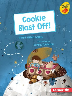 cover image of Cookie Blast Off!