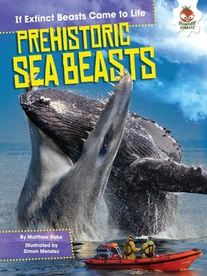 cover image of Prehistoric Sea Beasts