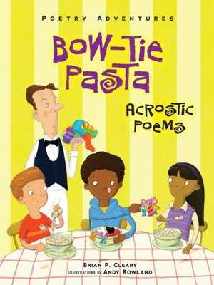 cover image of Bow-Tie Pasta
