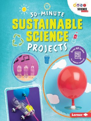 cover image of 30-Minute Sustainable Science Projects