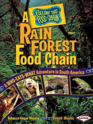 cover image of A Rain Forest Food Chain