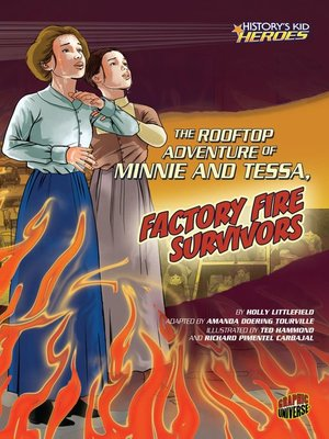 cover image of The Rooftop Adventure of Minnie and Tessa, Factory Fire Survivors