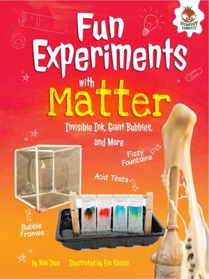 cover image of Fun Experiments with Matter