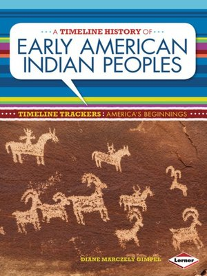 cover image of A Timeline History of Early American Indian Peoples