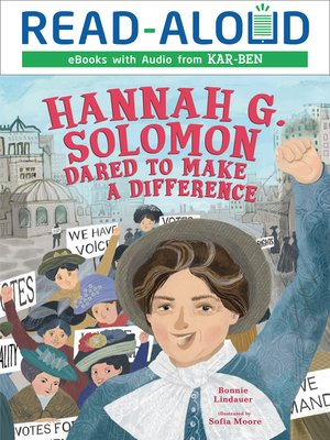 cover image of Hannah G. Solomon Dared to Make a Difference