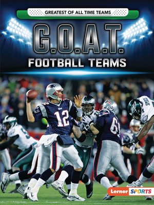 cover image of G.O.A.T. Football Teams