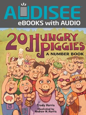 cover image of 20 Hungry Piggies