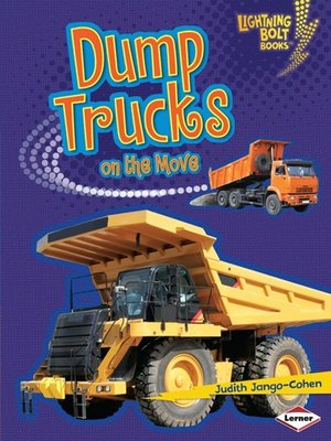 cover image of Dump Trucks on the Move