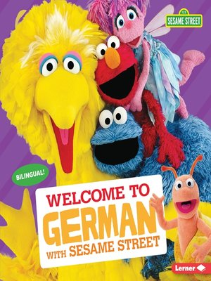 cover image of Welcome to German with Sesame Street ®