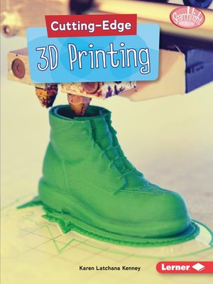 cover image of Cutting-Edge 3D Printing
