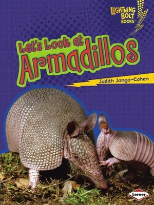 cover image of Let's Look at Armadillos