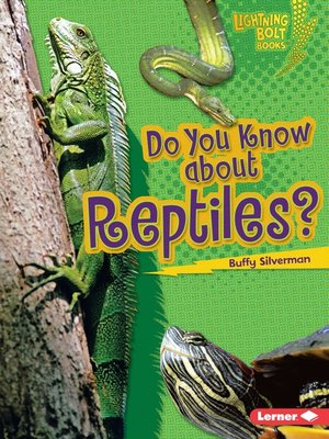 cover image of Do You Know about Reptiles?